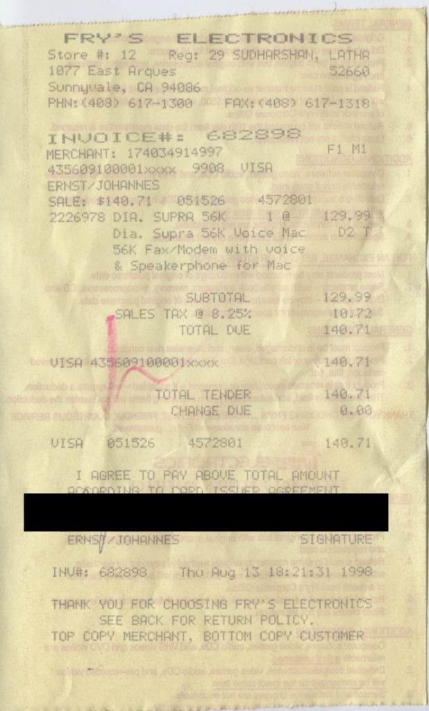 old-frys-receipt