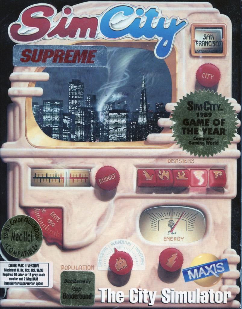 Sim City Supreme 1989