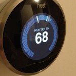 The @nest thermostat is installed! Loving it already.
